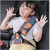 シートベルト カバー 子供用 シートベルトカバー デコレーション アジャスター 可愛い 取り付け簡単 ソフト 肩 首 保護 旅行 車用
