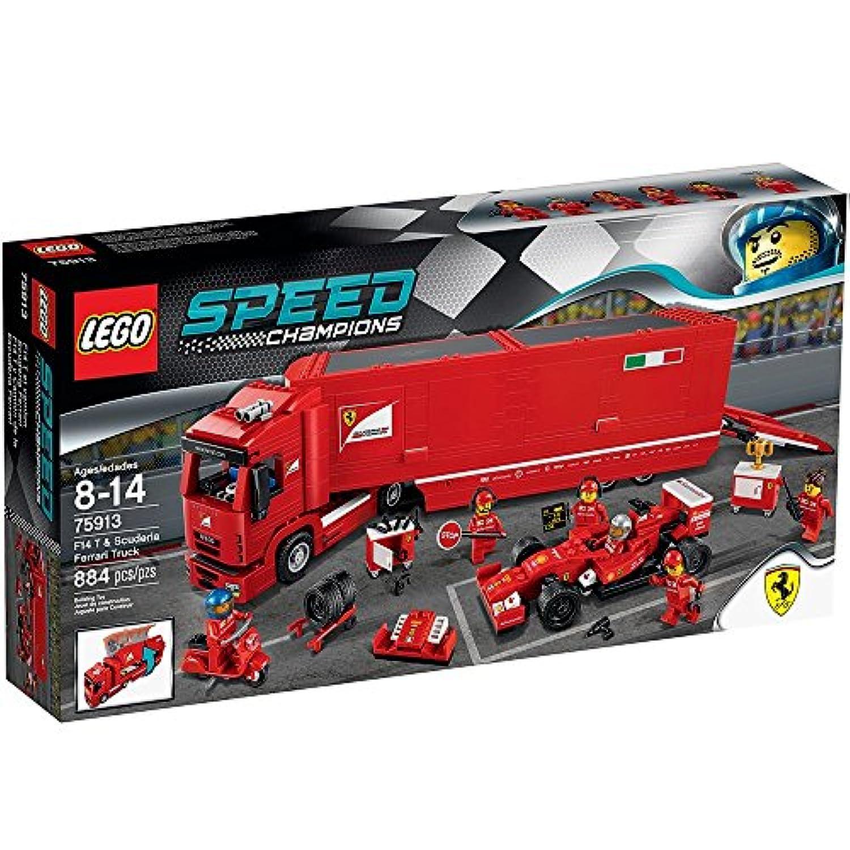 レゴ (LEGO) スピードチャンピオン F14 T & スクーデリア?フェラーリ トラック 75913