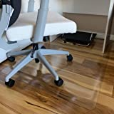 """Office Chair Mat, 47""""×35""""-2mm Thick, Chair Mat for Hardwood Floor, Desk Chair Mat, Floor Protectors for Office Chairs, Office"""
