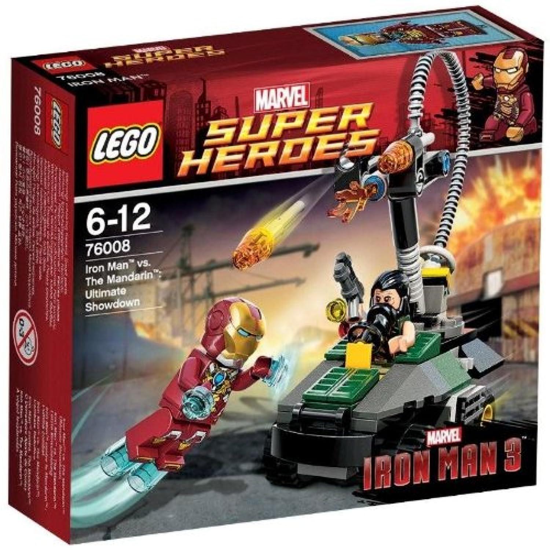 レゴ (LEGO) スーパーヒーローズ アイアンマン™ vs. マンダリン™:究極のショーダウン 76008