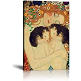 Yatsen Bridge Gustav Klimt Mother Love Twin Baby Painting Wall Decor Pictures Prints Nordic Style Canvas Posters Modern Home