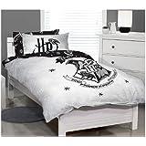 Harry Potter Single Bed Quilt Doona Duvet Cover Set Hogwarts Crest