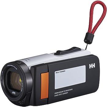 JVCKENWOOD HELLY HANSEN×JVC ビデオカメラ Everio R 防水 防塵 32GB ノルディックホワイト GZ-HH140-WB