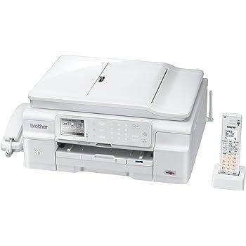 BROTHER A4インクジェットFAX複合機 PRIVIO デジタル子機1台/白モデル MFC-J980DN-W