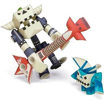 パイプロイド(PIPEROID) ガイザー&ビーン 2-in-1 紙工作 ロボット キット