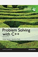 Problem Solving with C++ plus MyProgrammingLab with Pearson eText, Global Edition Paperback