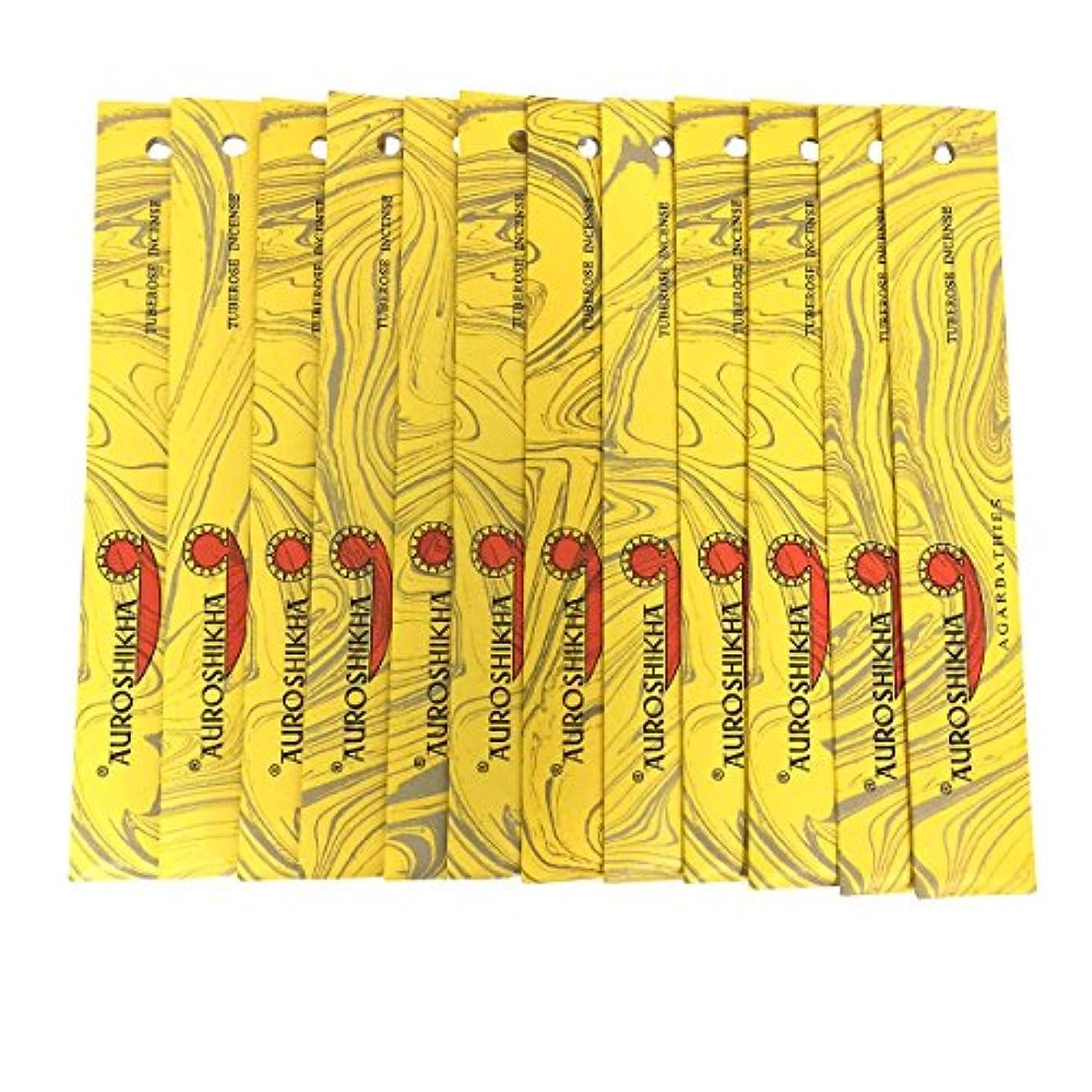 群がるトラックレイプAUROSHIKHA オウロシカ(TUBEROSEチューベローズ12個セット) マーブルパッケージスティック 送料無料