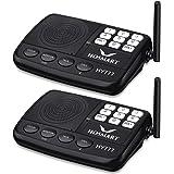 Wireless Intercom System Hosmart 1/2 Mile Long Range 7-Channel Security Wireless Intercom System for Home or Office (2019 New