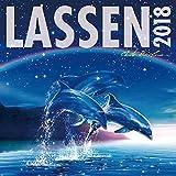 ラッセン 2018年 カレンダー 壁掛け 60×30cm クリスチャン・リース・ラッセン