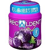 【トクホ】モンデリーズ・ジャパン リカルデントグレープミントガム ボトルR 140g