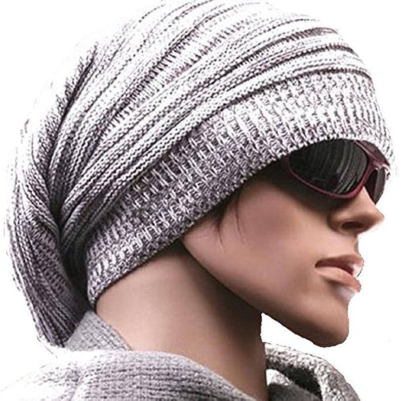 第九振りかける鼻京都おかげさまで 選べるカラー ボーダーニット帽 スノー ワッチキャップ ユニセックス   オリジナルステンレスネックレス付き。