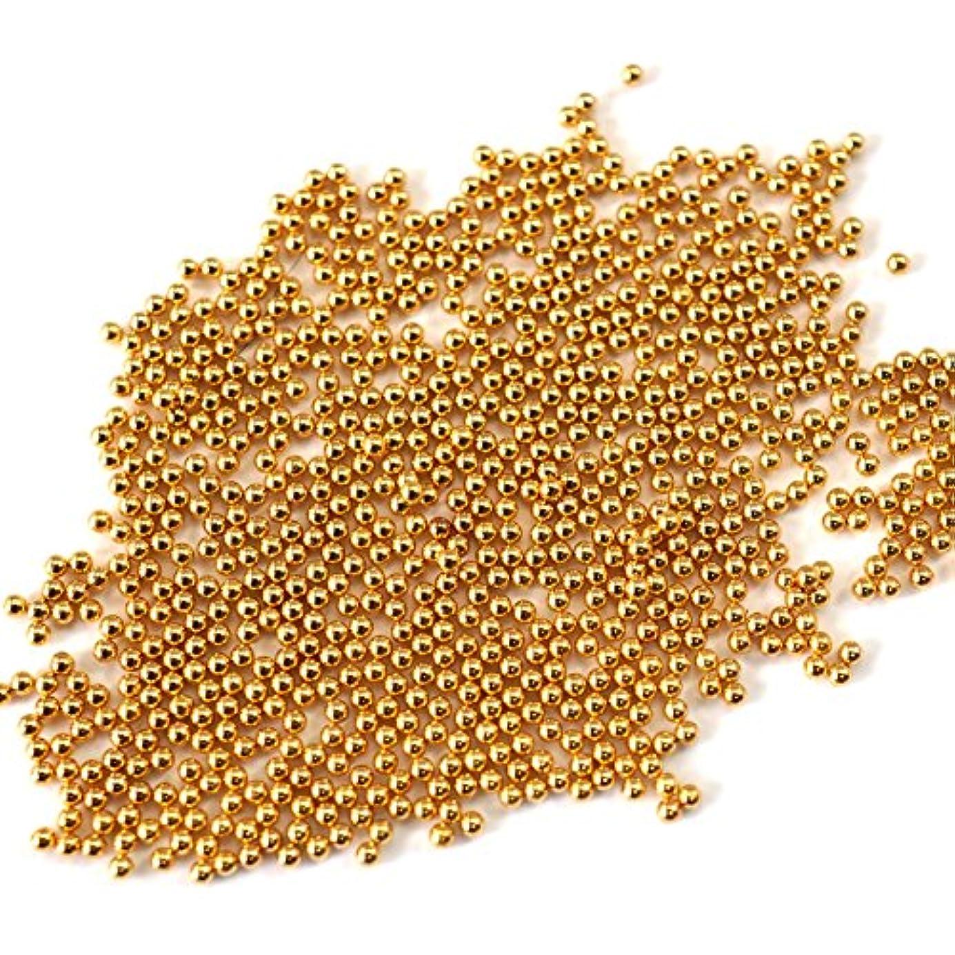 モトリー兵器庫回答高品質メタルブリオン 1mm 4g(約1000個)ゴールド