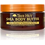 Tree Hut 24 hour Intense Hydrating Shea Body Butter Coco Colada, 7oz, Hydrating Moisturizer with Pure Shea Butter for Nourish