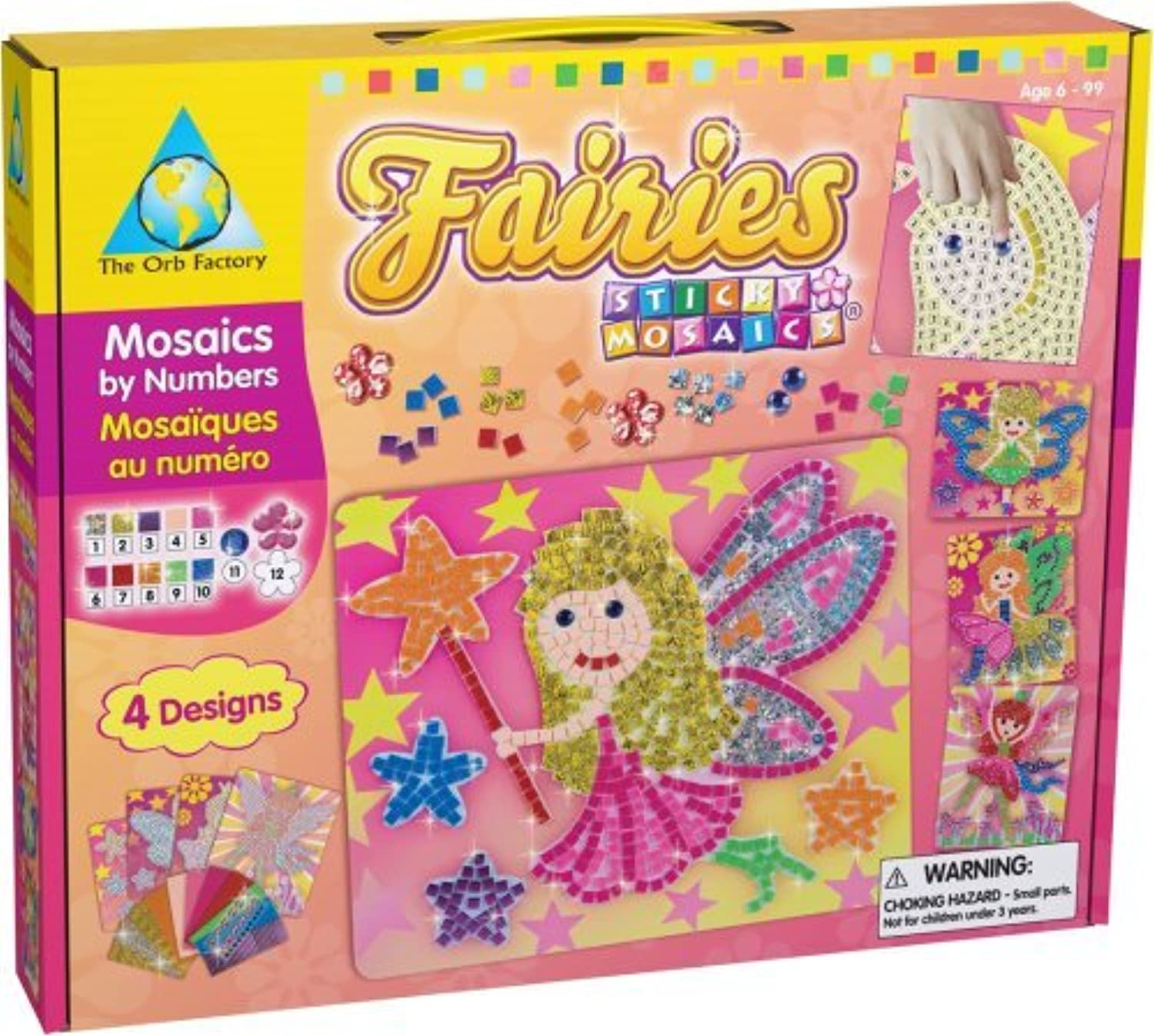 Orb Factory Sticky Mosaics: Fairies by The Orb Factory