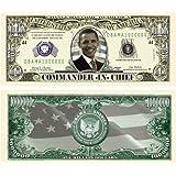 Set of 100-Barack Obama Collectible Million Dollar Bills [並行輸入品]