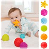 St. Lun Baby Kids Sensory Ball Set Toy Early Learning Educational Toys,Variation:4pcs
