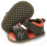 LAFEGEN Baby Boys Girls Summer Sandals 2 Straps Anti Slip Soft Sole Beach Infant Shoes Toddler First Walker Newborn Crib Shoe