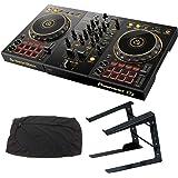 PIONEER DJコントローラー DDJ-400-N + PCスタンド + ダストカバー DJセット 《教則動画 & ステッカー付》 ddj pcdj