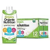 Orgain Organic Nutritional Shake, Sweet Vanilla Bean - Meal Replacement, 16g Protein, 21 Vitamins & Minerals, Gluten Free, So