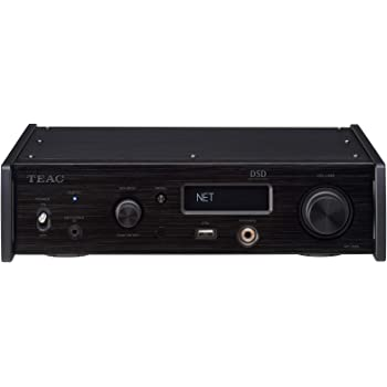 ティアック USB-DAC/ネットワークプレーヤー(ブラック)TEAC NT-505-B