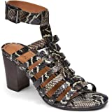 Vionic Women's Perk Sami Strappy Sandals - Ladies Heels with Concealed Orthotic Arch Support