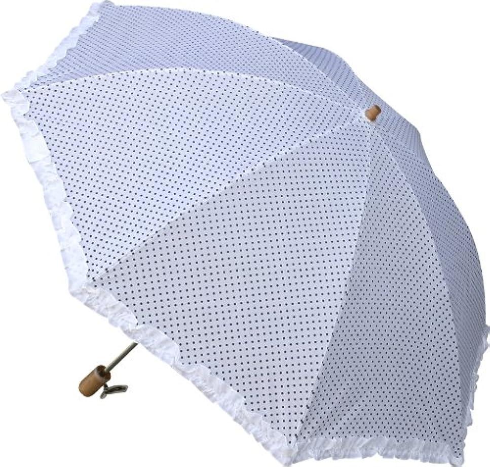 補償リラックスしたデマンド折りたたみ日傘、布製