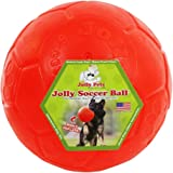Jolly Pets Jolly Soccer Ball Dog Toy 8in