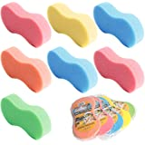 HAPY SHOP Car Wash Sponges 8 PCS Handy Multi Functional Washing Sponges Mix Colors Cleaning Scrubber Car Cleaning Supplies fo