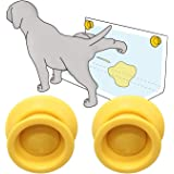 Petzy Pee Pad Holder for dogs (Pack of 2) | Potty Training for Leg-Lifting Dogs & Marking in the House | Any Size Puppy Pads