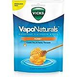 Vicks VapoNaturals Naturally Flavoured Cough Lozenges Honey 19s Resealable Bag