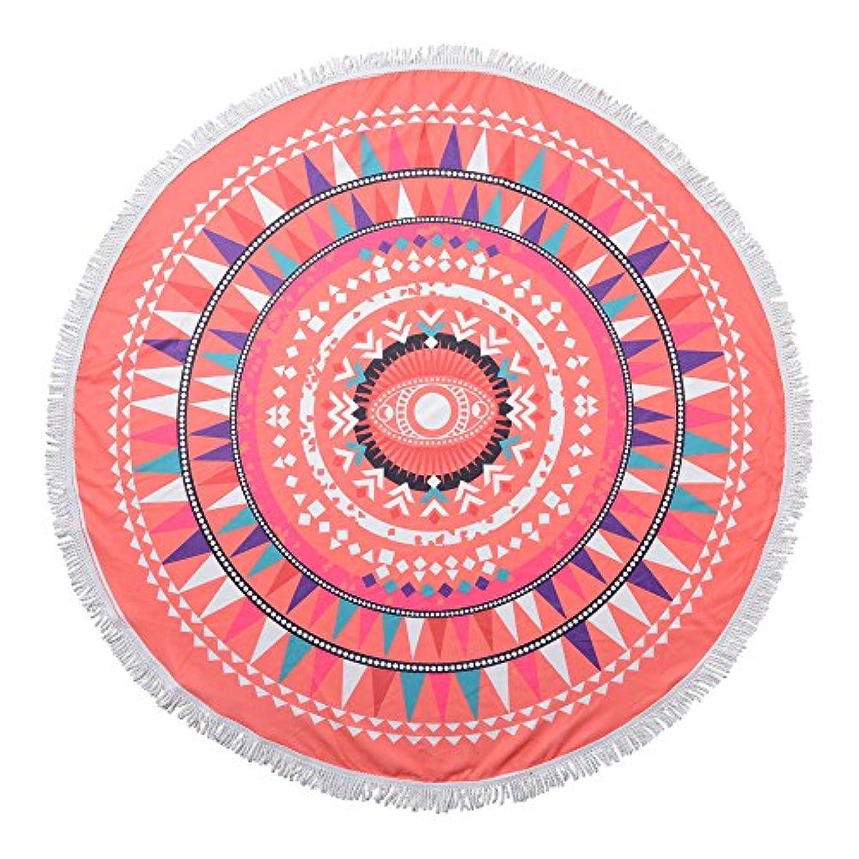 ダイヤモンド売るブラジャーMkトレーディング ラウンドタオル(登録商標)サークルグラフィック
