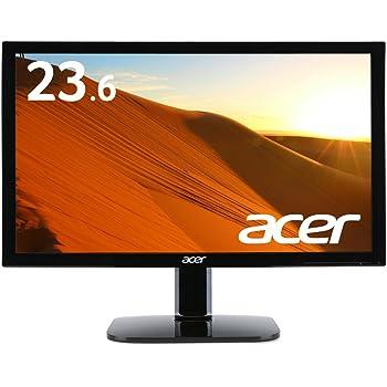 Acer モニター ディスプレイ KA240HQAbid 23.6インチ/フルHD/5ms/HDMI端子対応