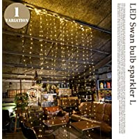 LED Swan bulb sparkler L