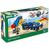 BRIO 33812 police Transport Set