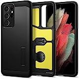 Spigen ACS02354 Tough Armor Designed for Samsung Galaxy S21 Ultra Case (2021), Black