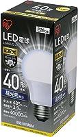 アイリスオーヤマ LED電球 口金直径26mm 30W・40W・60W形相当 広配光タイプ 電球色/昼白色/昼光色 1個/2個/3個セット 密閉器具対応