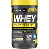 Cellucor Whey Sport Protein Powder, Post Workout Recovery Drink with Whey Protein Isolate, Creatine & Glutamine, Vanilla, 18