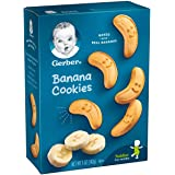Gerber Graduates Cookies, Banana Cookies Boxes, 5 Ounce (Pack of 12)