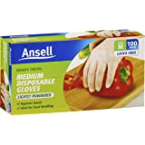Ansell Handy Fresh Gloves Disposable 100 Pack