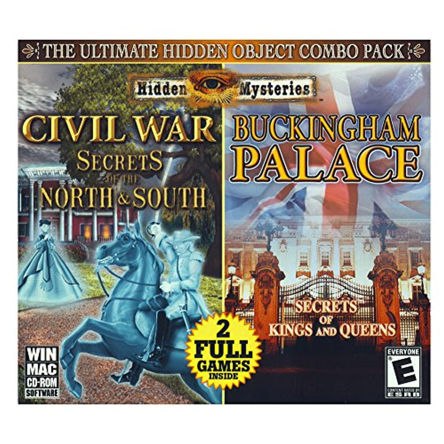 準備したバングラデシュ反射Hidden Mysteries Civil War- Secrets of the North and South/ Bukingham Palace Combo Pack (輸入版)
