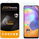(2 Pack) Supershieldz for Samsung Galaxy A31 Tempered Glass Screen Protector, Anti Scratch, Bubble Free