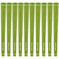 クリックスポーツ10 Piece Ruberゴルフグリップ、標準サイズ60r for Men 'sゴルフアイアンクラブ