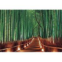 300ピース ジグソーパズル めざせ! パズルの達人 嵯峨野竹林 ライトアップ-京都(26x38cm)
