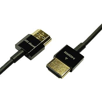 ATS direct HDMIケーブル 0.3m Full HD 3D 4K2K 対応 スーパースリム ハイスピードwithイーサネット【A0367】