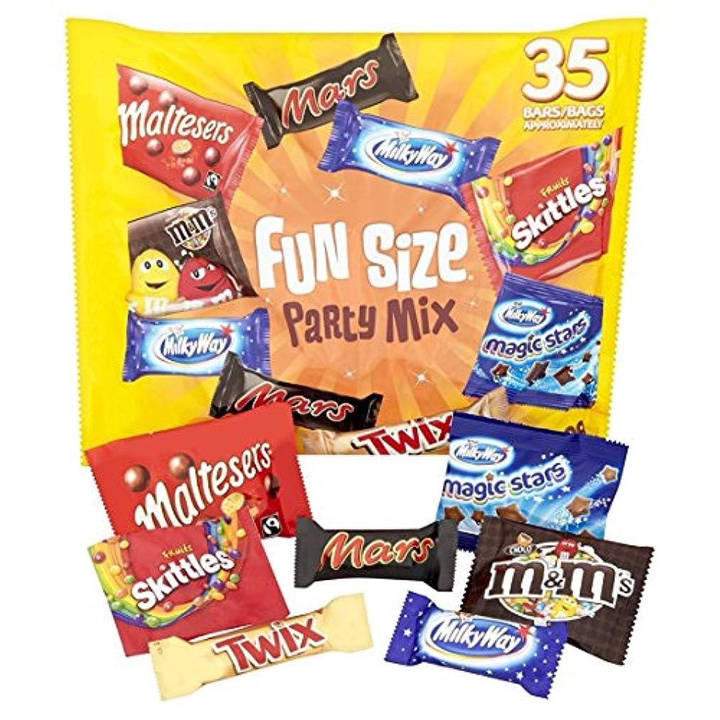 追い払う回復海嶺Mars Fun Size Party Mix 35 Pack マーズ パーティーミックス 35パック入り 海外直送 [並行輸入品]