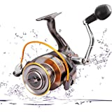 Portzon Fishing Reel/Telescopic Fishing Rod and Reel Combos Full KitPortzon Spinning Reel, 5.1: 1,7000 Fishing Reel Spinning,
