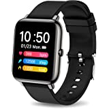 MuGo Smart Watch Fitness Tracker, 1.2 Full Touch Screen Sports Watch with Heart Rate Monitor, Activity Tracker with Sleep Mon