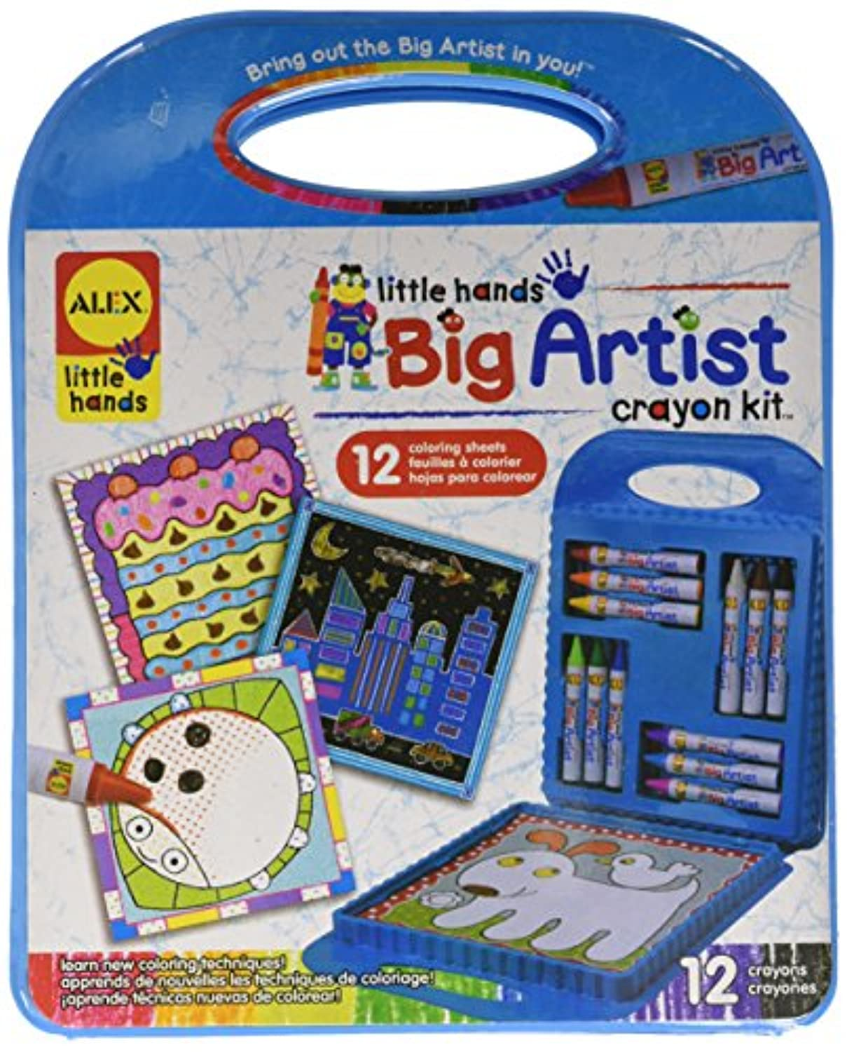 Alex Toys Little Hands Big Artist Seriesクレヨンキット