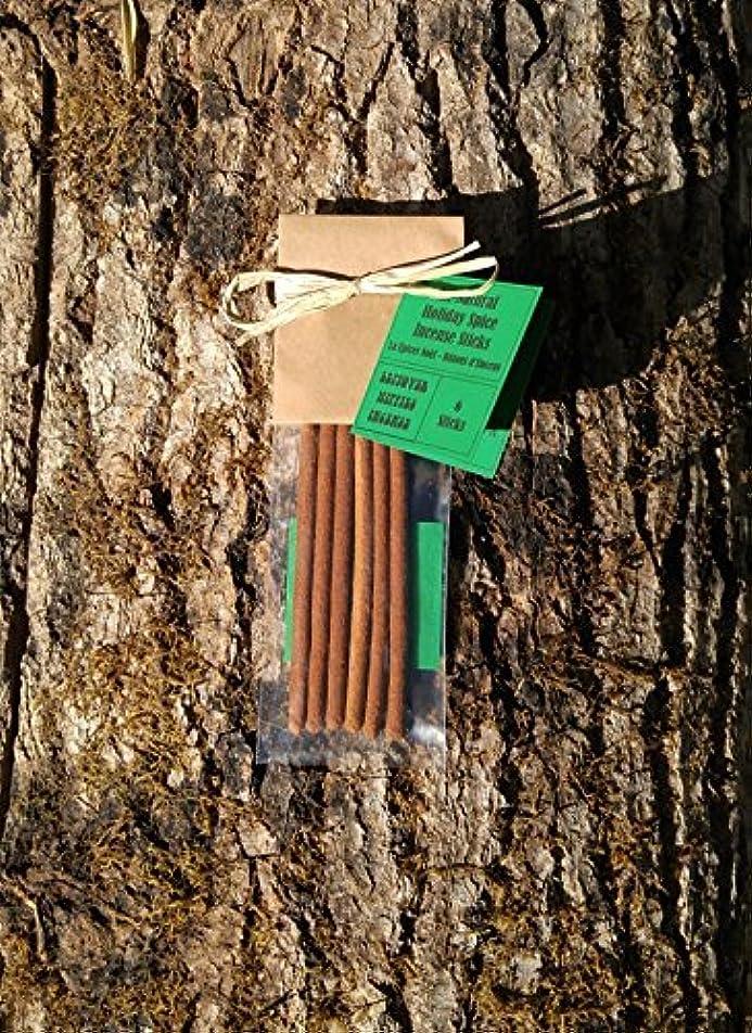 キャンベラ白鳥レンチChristmas Incense - 6 Holiday Spice Incense Sticks - All Natural Hand Rolled Herbal Incense [並行輸入品]
