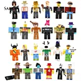 CHOUREN 24Pcs Roblox Legends Champions Classic Noob Captain Doll Action Figure Toy Gift,Variation:24pcs